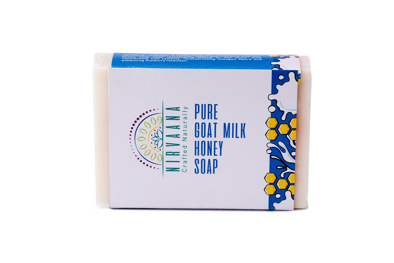Pure Goat Milk Honey Soap -1