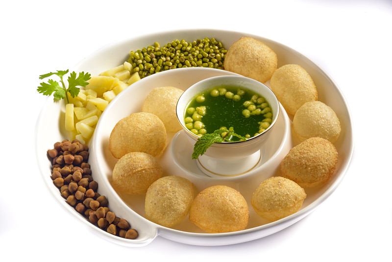 Food-Gujarati-Pani-Puri-Chana