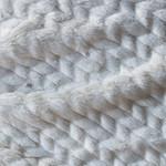 Cream-Herringbone