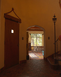 Entryway of Turret, looking into Great Room