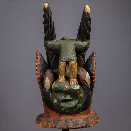 Wood Gelede Mask, Nigeria