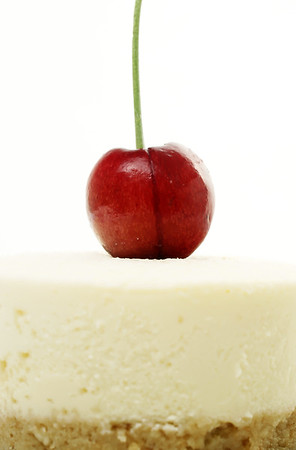 Cheesecake with Cherry on top