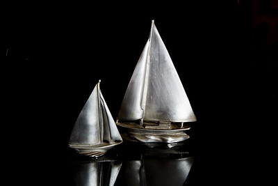 Pewter Sailboat's