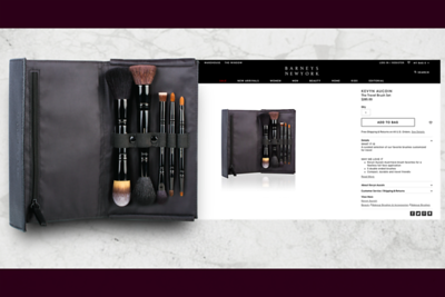 Client - KEVYN AUCOIN BEAUTY for Barneys.com