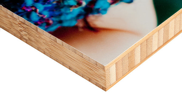 Add a new dimension to your displays with our Bamboo Mounts! Prints are mounted on a sustainably harvested solid bamboo panel that gives a contemporary, finished look to unframed images.<br /> <br /> Holes are included on the back of the mounts for easy hanging.
