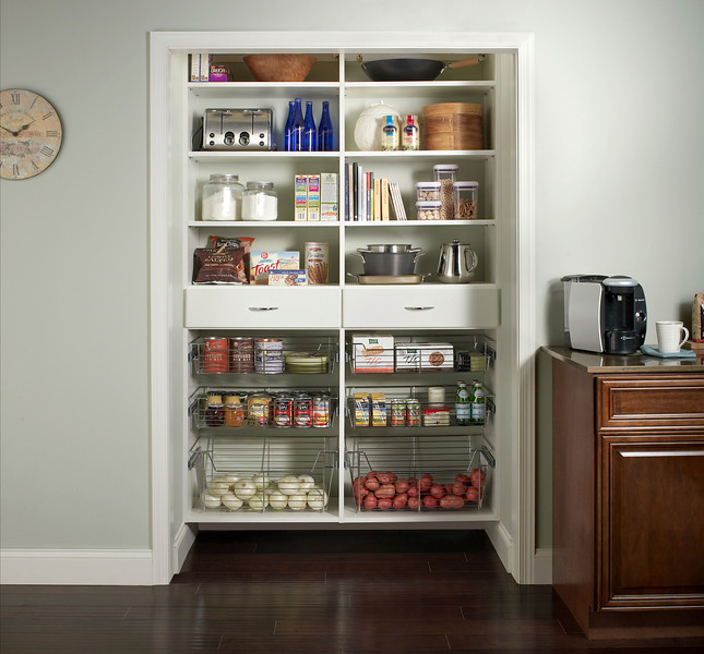 Superieur Kitchen Pantry With ClosetMaid MasterSuite In White
