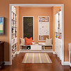 Playroom with storage areas created with ClosetMaid MasterSuite in White