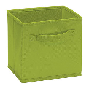 ClosetMaid Cubeicals Mini Fabric Drawer in Spring Green