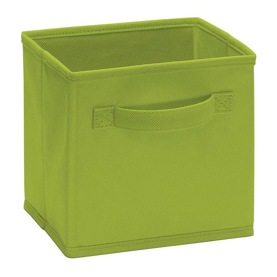ClosetMaid Cubeicals Mini Fabric Drawer in Spring Green