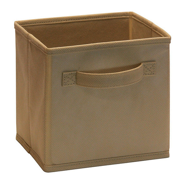 ClosetMaid Cubeicals Mini Fabric Drawer in Mocha