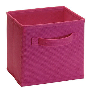 ClosetMaid Cubeicals Mini Fabric Drawer in Fuschia