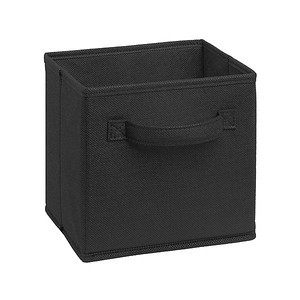 ClosetMaid Cubeicals Mini Fabric Drawer in Black
