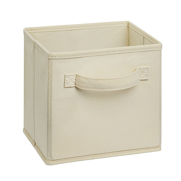 ClosetMaid Cubeicals Mini Fabric Drawer in Natural