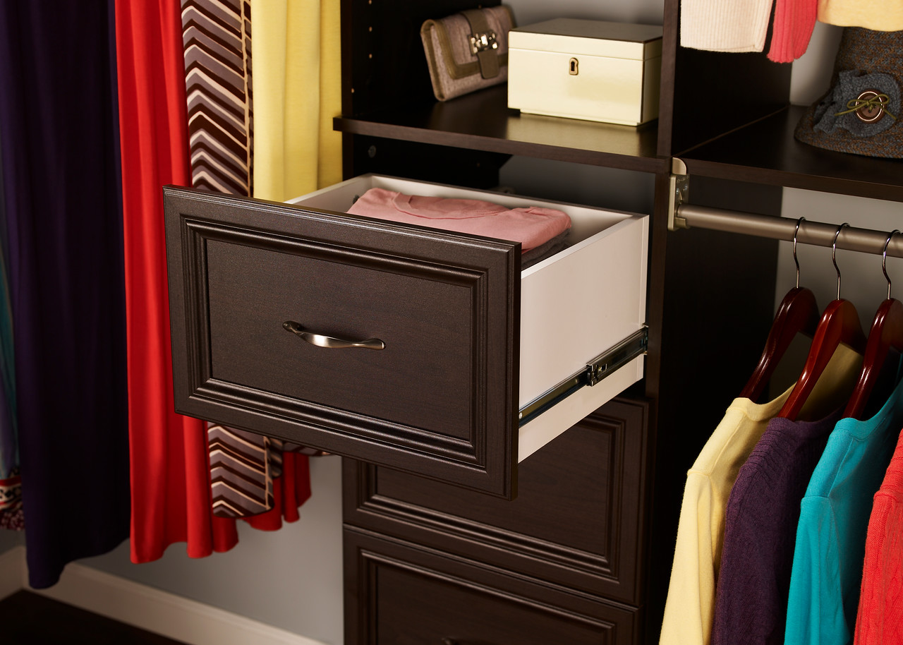 ClosetMaid SuiteSypmphony Drawer in Espresso.