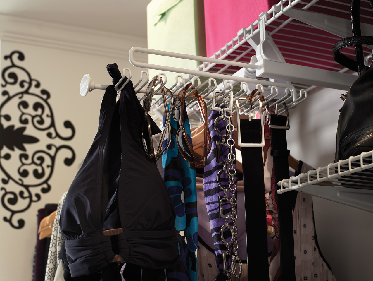 Tie Racks For Closets Target