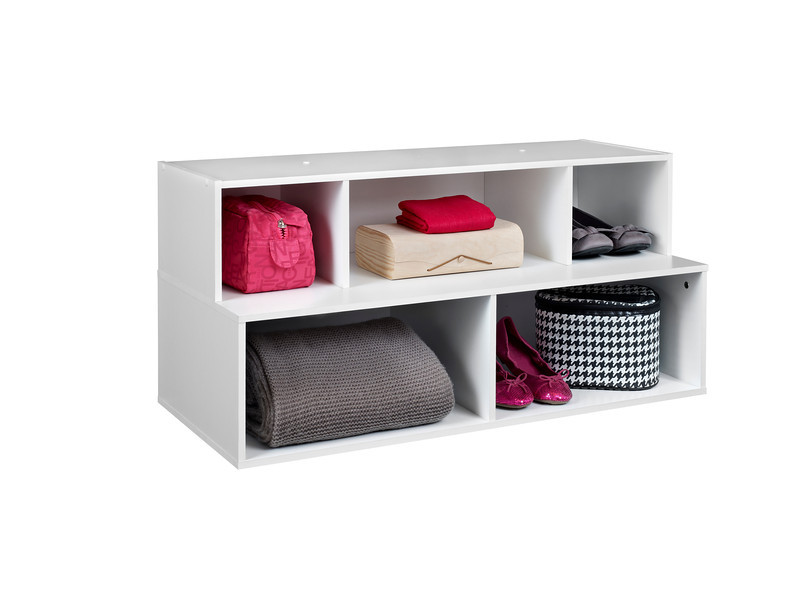 ClosetMaid Floor Organizer in White.