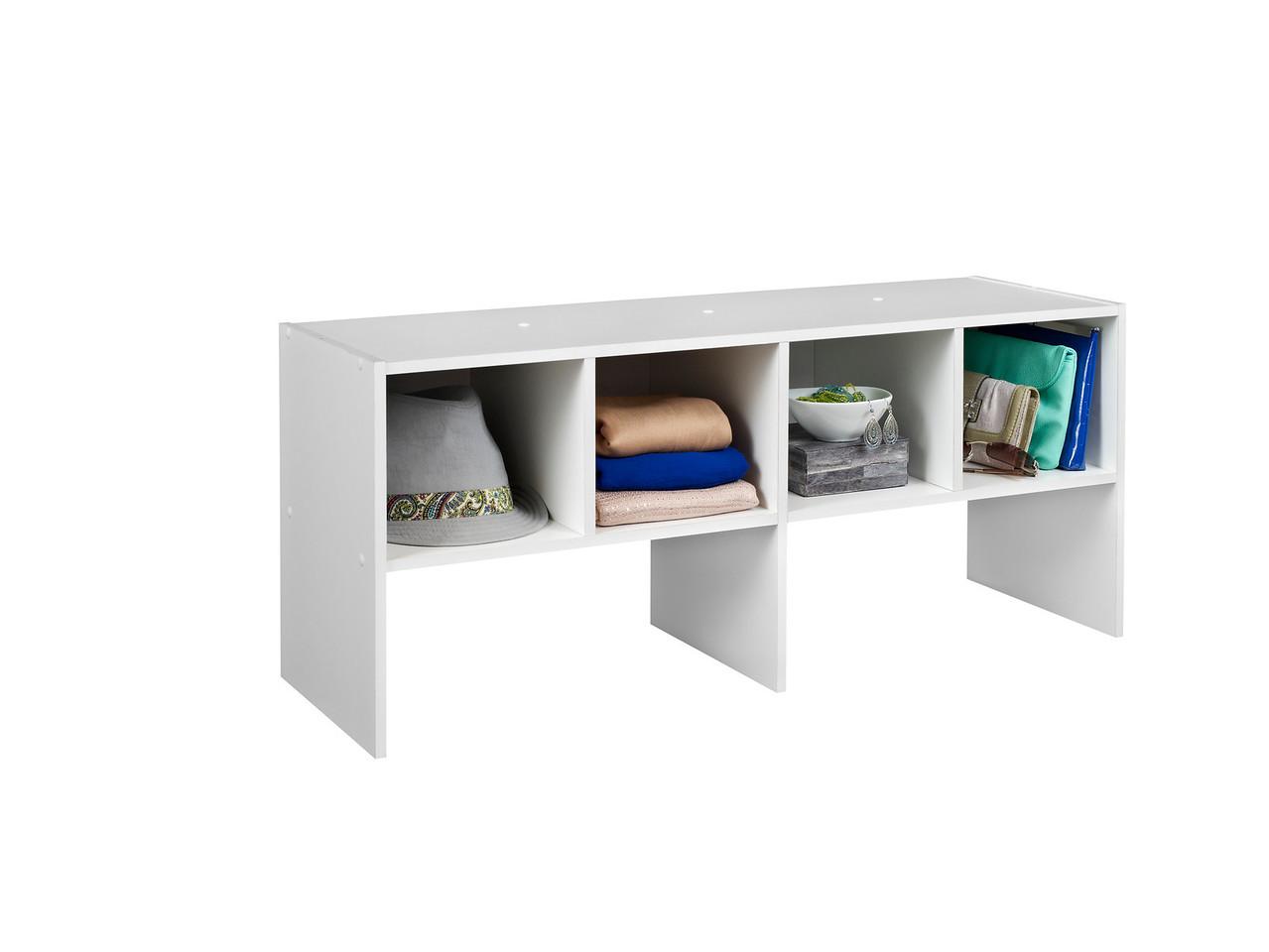 ClosetMaid Shelf Organizer in White.