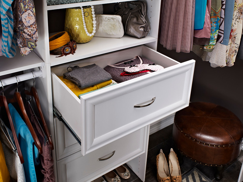ClosetMaid Selectives drawer in White.