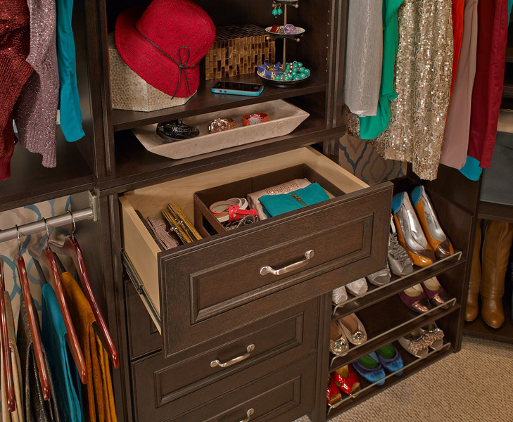 """ClosetMaid Impressions 25"""" drawer in Chocolate"""