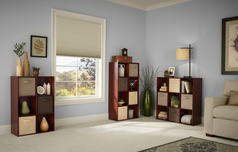 ClosetMaid Cubeicals 6-, 8- and 9-Cube Organizers in Dark Cherry