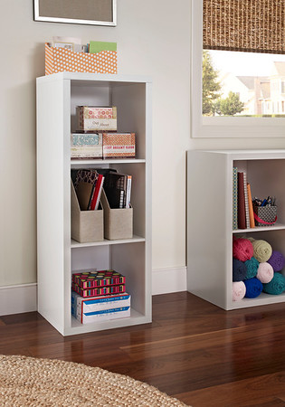 ClosetMaid Decorative Storage 3-Cube Organizer in White