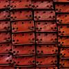 Red Metal Struts