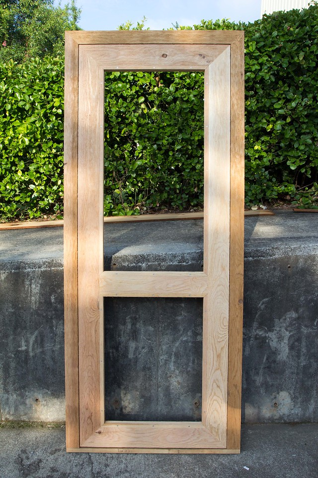 Cedar Screen Doors Rough
