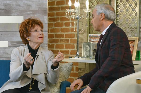 Marion Ross with Herbie J. Pilato
