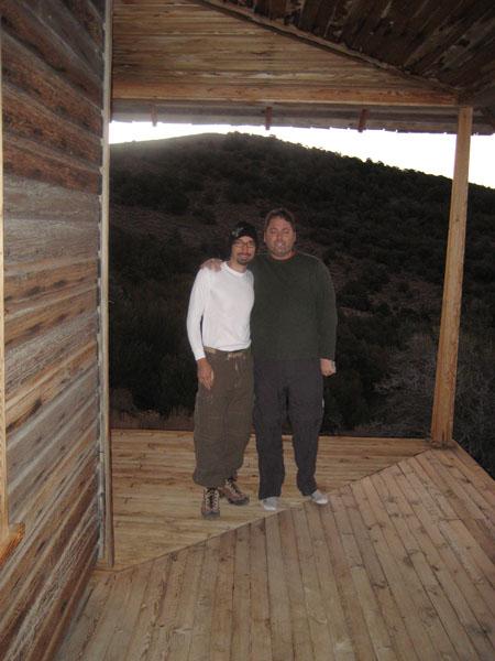 Cameraman Neil & Producer Peter.