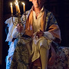 Mark Rylance as King Philippe V in Farinelli and the King<br /> <br /> Farinelli and the King<br /> Belasco Theatre<br /> <br /> CAST & CREATIVE<br /> <br /> Cast<br /> <br /> King Philippe V of Spain Mark Rylance<br /> Farinelli Sam Crane<br /> John Rich Colin Hurley<br /> Farinelli Singing Voice Iestyn Davies<br /> Isabella Farnese Melody Grove<br /> Doctor Jose Cervi Huss Garbiya<br /> De La Caudra Edward Peel<br /> Creative<br /> <br /> Written by Claire van Kampen<br /> Director John Dove<br /> Set Designer Jonathan Fensom