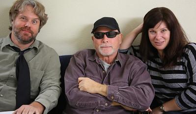 John Stephenson, Addison Randall, Heather McClure