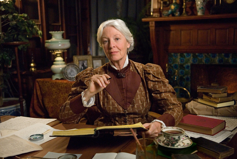 "Production still from ""Louisa May Alcott: the Woman Behind Little Women""<br /> Jane Alexander as Ednah Cheney <br /> Photo (c) Liane Brandon"