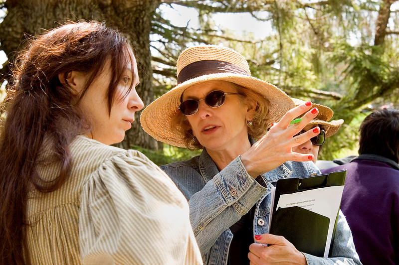"Production still from ""Louisa May Alcott: the Woman Behind Little Women"".  Nancy Porter, Director, Elizabeth Marvel as Louisa May Alcott <br /> Photo (c) Liane Brandon"