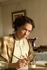"Production still from ""Louisa May Alcott: the Woman Behind Little Women""<br /> Elizabeth Marvel as Louisa May Alcott <br /> Photo (c) Liane Brandon"