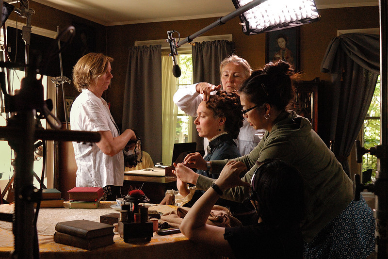"""Production still from """"Louisa May Alcott: the Woman Behind Little Women"""""""