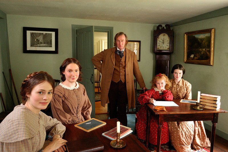 "Production still from ""Louisa May Alcott: the Woman Behind Little Women"""