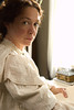 "Production still from ""Louisa May Alcott: the Woman Behind Little Women""<br /> Elizabeth Marvel as Louisa May Alcott"