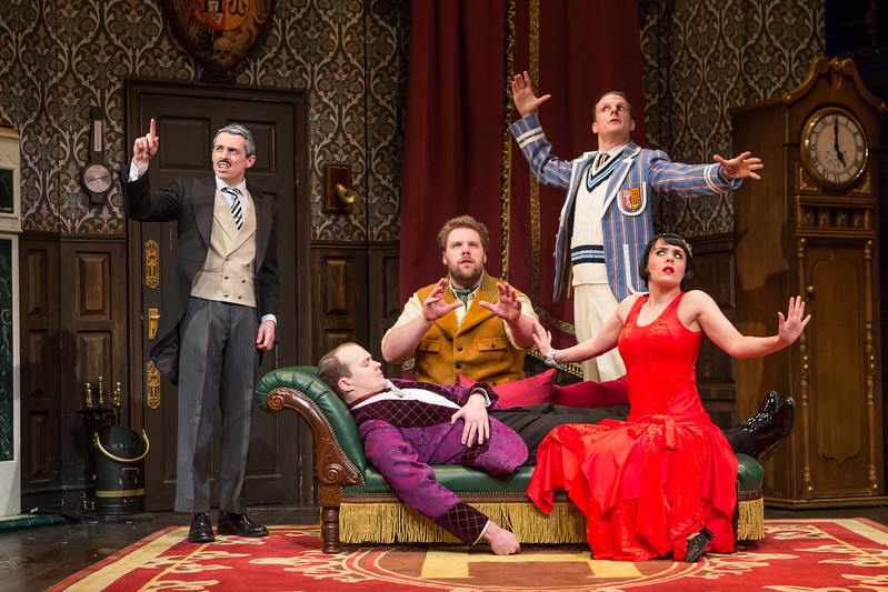 """""""The Play That Goes Wrong"""" / Broadway 2017"""