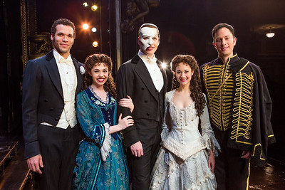 """The Phantom of the Opera"" Cast Portrait / Broadway 2017"