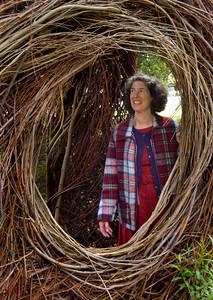 Patrick Doughtery Stick Sculpture  -- 4