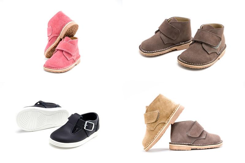 Fotografía de calzado infantil