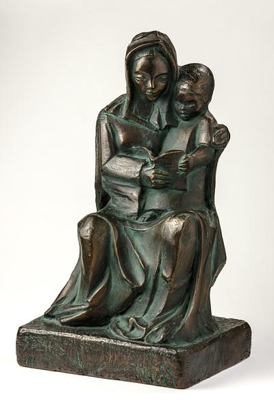 Escultura de bronce por Hortensia Núñez Ladevèze