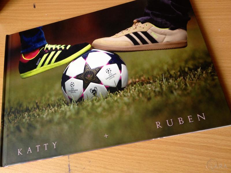 Guestbook portada y contra portada personalizada con fotografías.