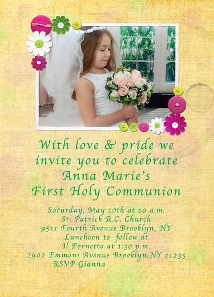 Custom Photo Paper invitation