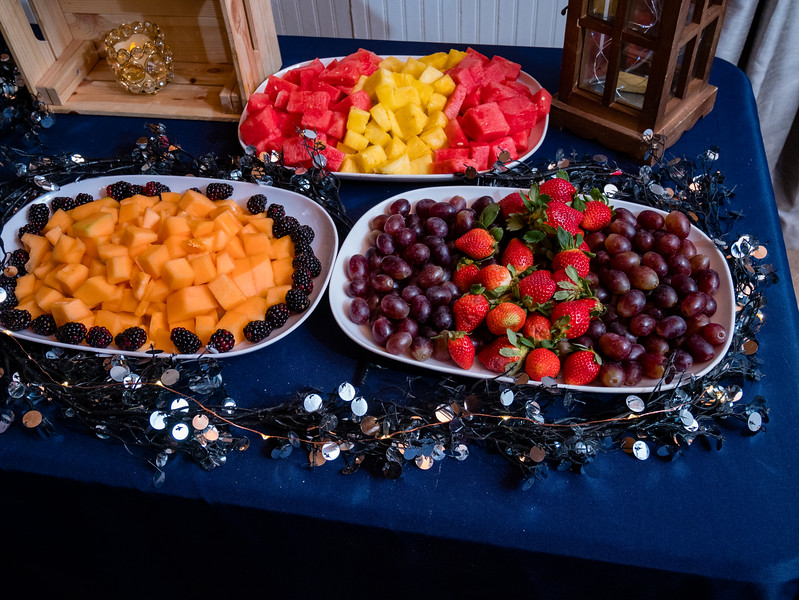 Some healthy food to balance holiday fare.