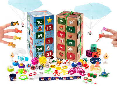 Advent Calender 2 Closed box Toys
