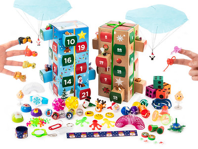 Advent Calender Toys 2 Open Box