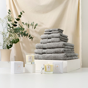 Towel Stack Silver s