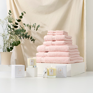 Towel Stack Pink s