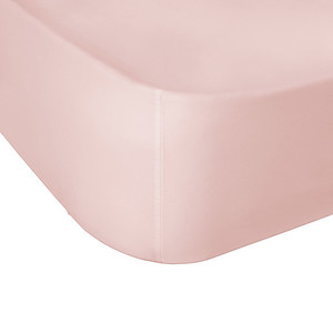 Hampton & Astley Pink Fitted Sheet